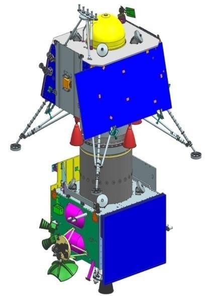 Chandrayaan-2 Lander & Integrated Module