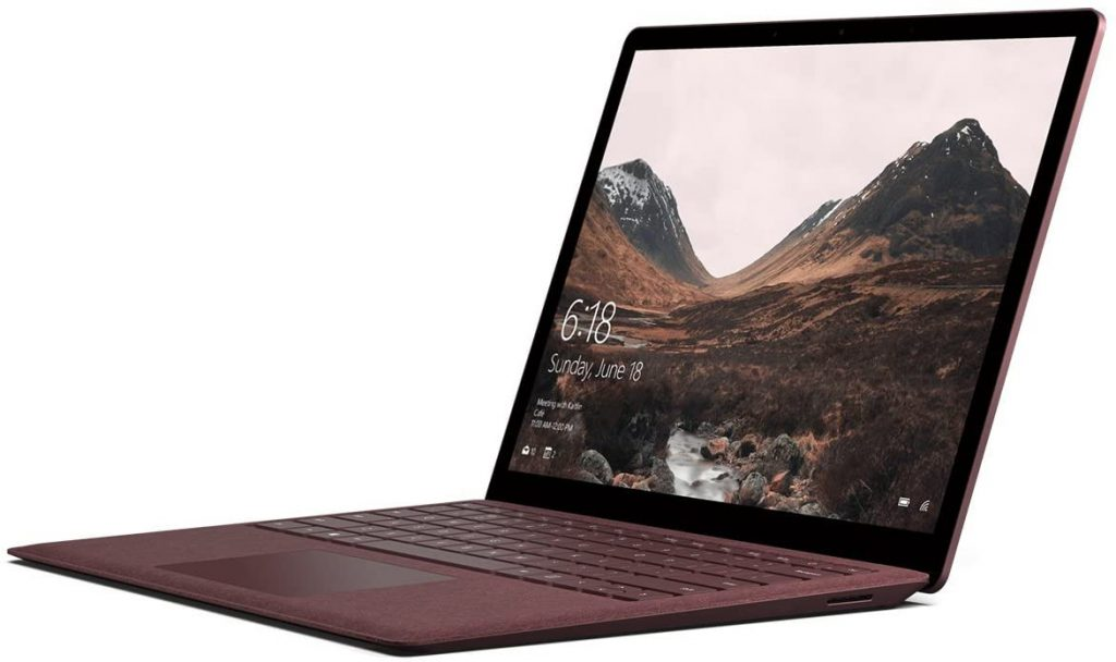 Microsoft Surface Laptop Feature 12.5-Inch Display and 10th-Gen Core i5 CPU
