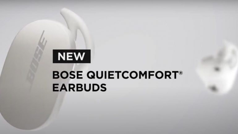 Leaked Promo of Bose Noise Cancelling Earbuds 700 might be called QuietComfort Earbuds