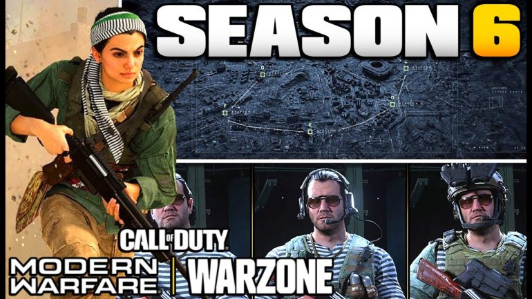 Call Of Duty Season 6 Modern Warfare and Warzone