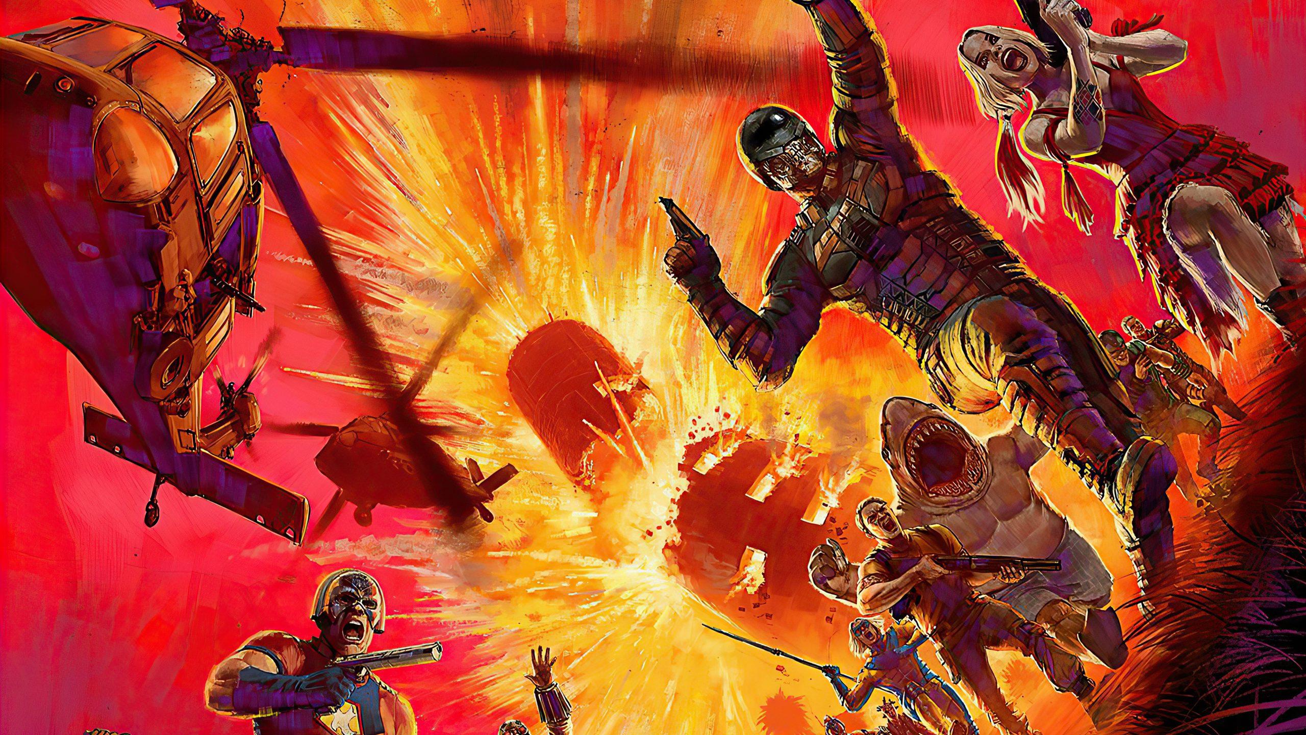 DC production, The Suicide Squad 2021 release