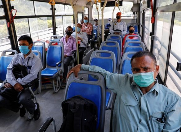Delhi Public Buses to Run with Full Capacity during COVID-19.