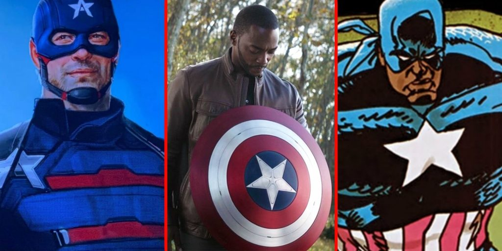 Falcon And Winter Soldier To Share Cap's Shield In The Upcoming Show