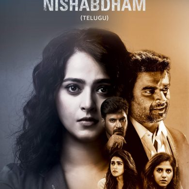 Nishabdham Poster.
