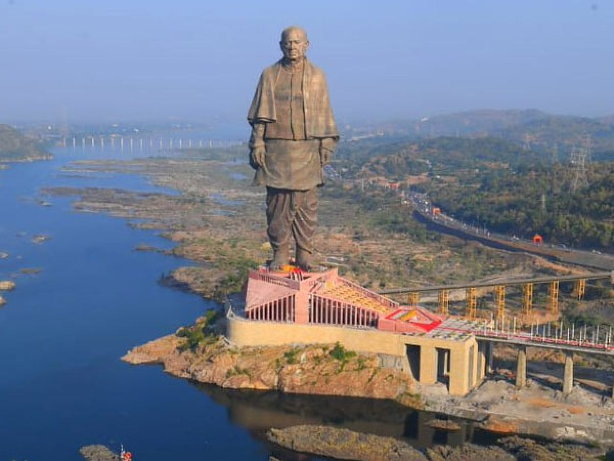 Seaplane from Sabarmati River to Statue of Unity