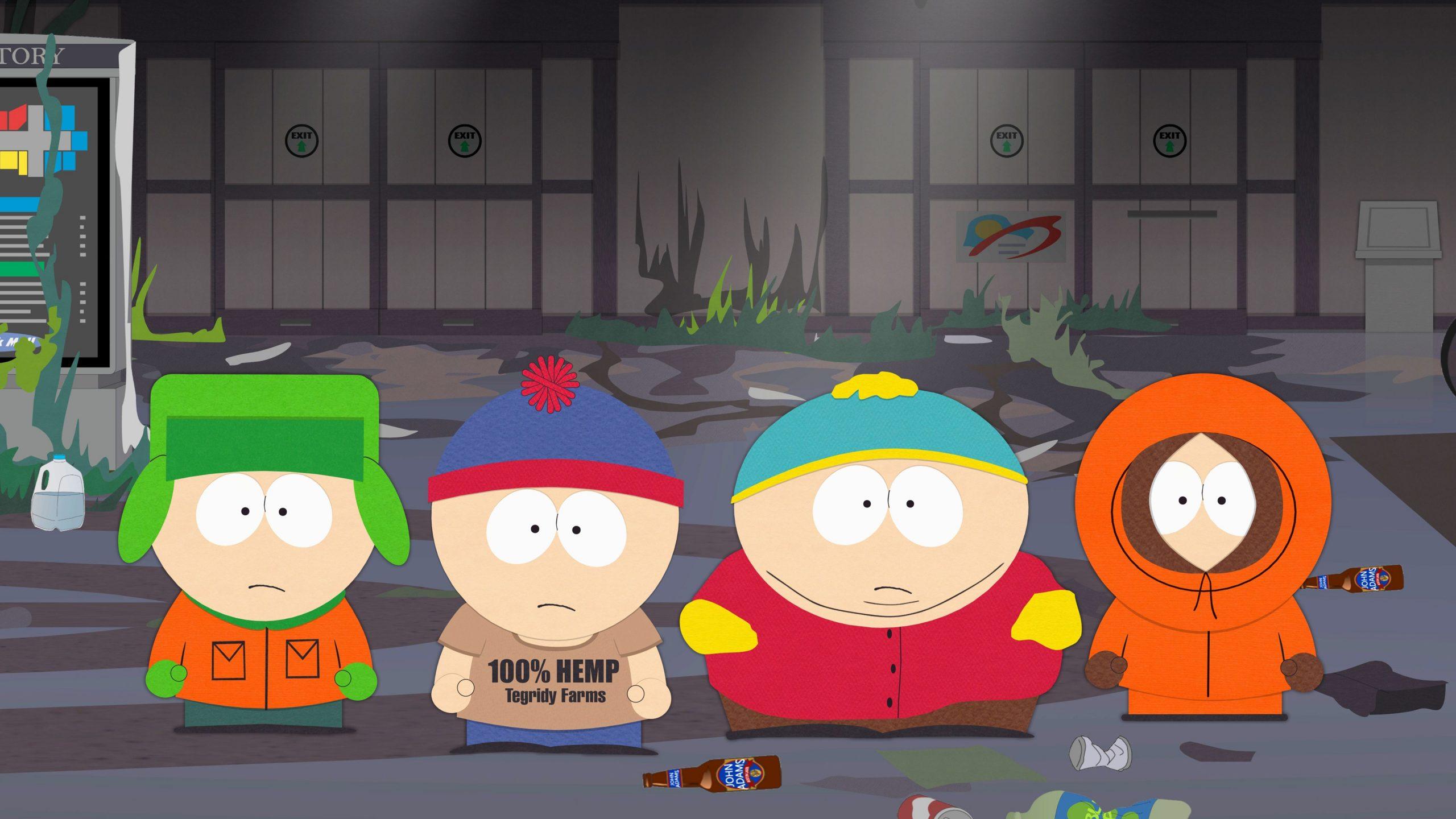 South Park has four protagonist.