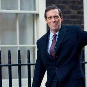 Hugh Laurie as Politician