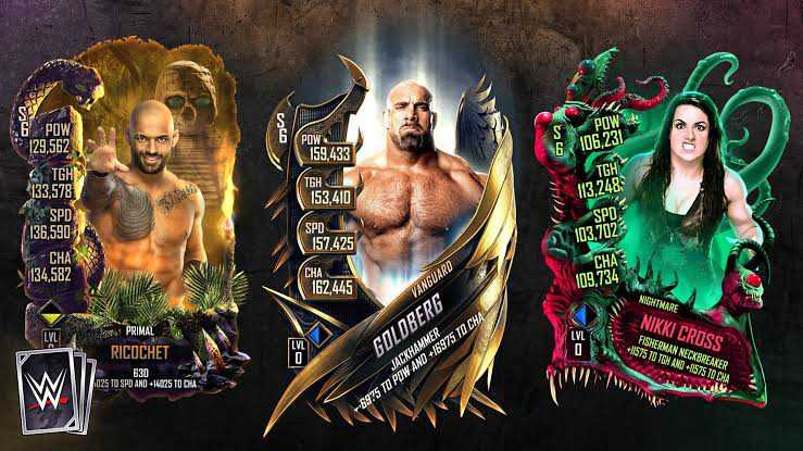WWE Supercard Season 7 New Tiers